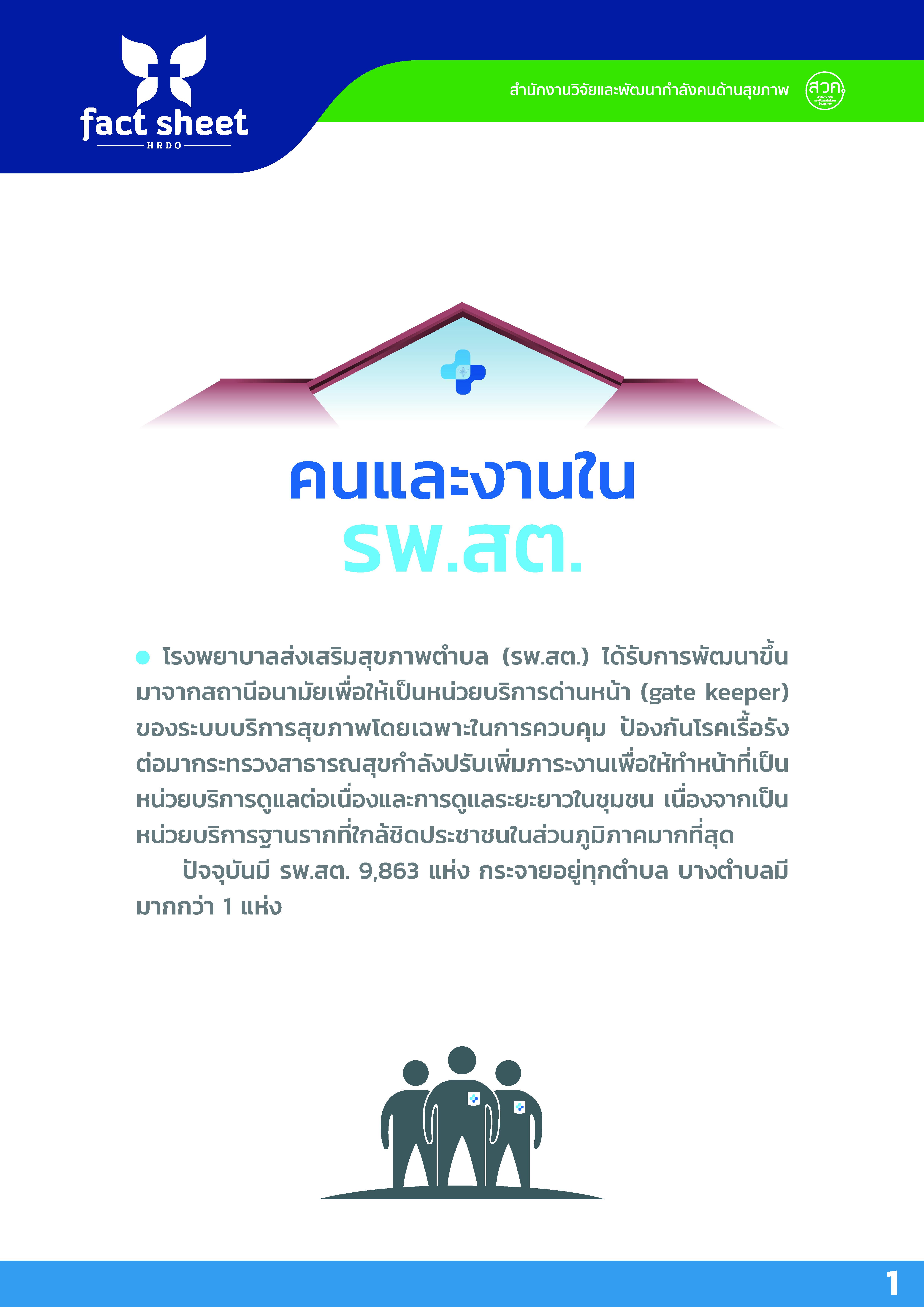 อสม มดงานในระบบสุขภาพไทย